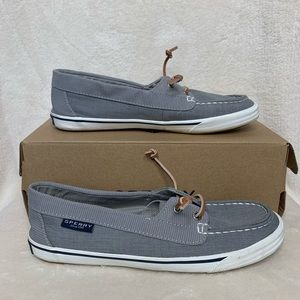 Sperry Lounge Away Grey Shoes size 7.5